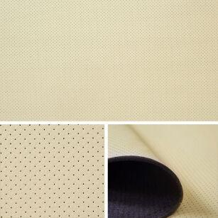 kunstleder kaschiert perforiert t130 01 beige. Black Bedroom Furniture Sets. Home Design Ideas