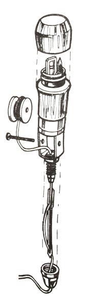 Osborn 413-N5 45mm Ersatznadel für Nähahle Sattlerahle Setzerahle Ahle C.S